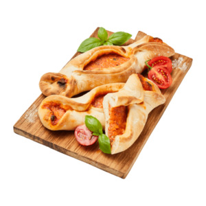 MEIN BESTES     Pizza-Schiffchen Margherita