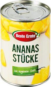 Beste Ernte Ananas in Stücken 580 ml - Abtropfgewicht 340 g