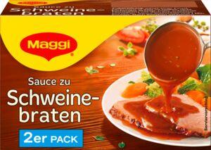 Maggi, Delikatess Sauce zu Schweinebraten ergibt 2 x 250 ml