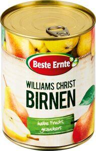 Beste Ernte Williams-Christ-Birnen 850 ml - Abtropfgewicht 460 g