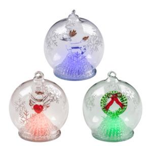 LIGHTZONE     Weihnachtskugel mit LED