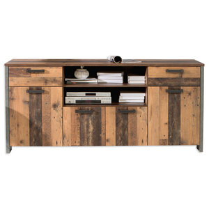 TV-Sideboard - Old Wood Vintage - 186 cm