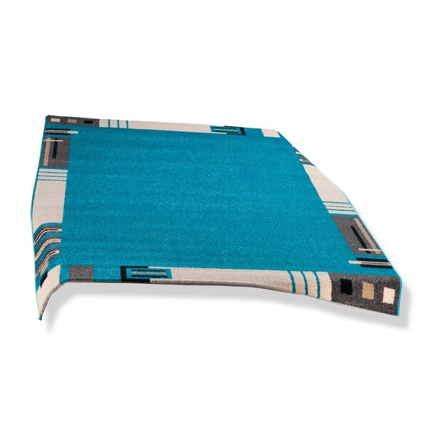 Teppich - türkis - 80x150 cm