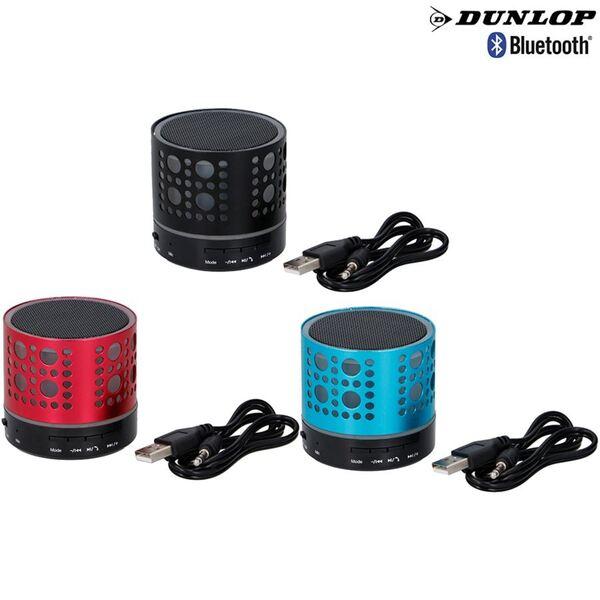 Dunlop Bluetooth-Lautsprecher mit LED-Beleuchtung 3W