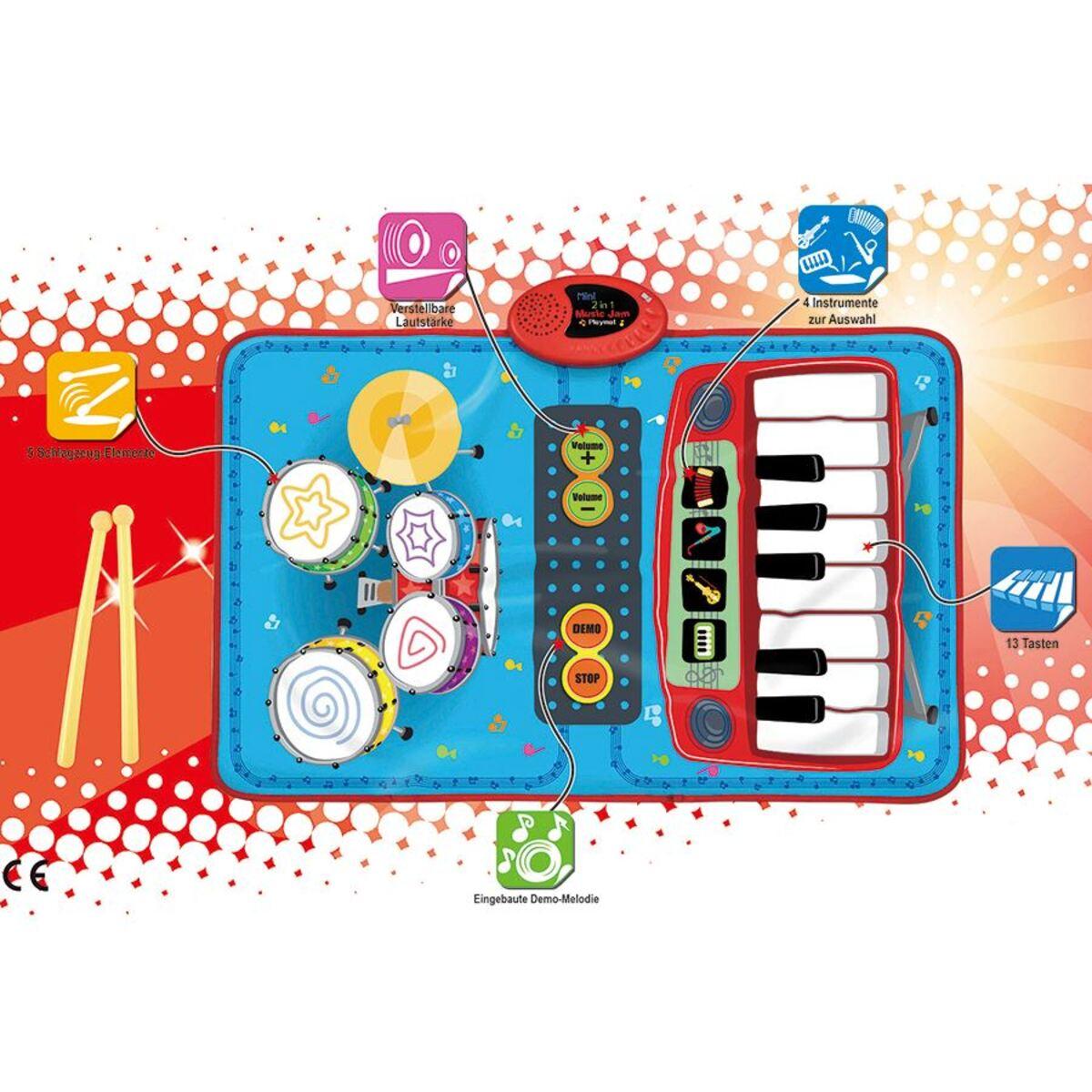 Bild 2 von Musikmatte 2in1 Schlagzeug & Klavier