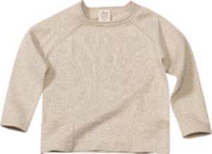 ALANA Kinder-Pullover, Gr. 104, in Bio-Baumwolle, beige