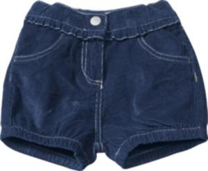 ALANA Kinder-Shorts, Gr. 92, in Bio-Baumwolle, blau