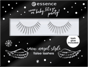 essence cosmetics Künstliche Wimpern come on baby, let's go party! snow angel style false lashes live like an angel 01