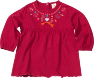 ALANA Kinder-Shirt, Gr. 104, in Bio-Baumwolle, pink