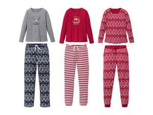 ESMARA® Lingerie Damen Weihnachtspyjama