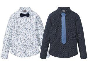 PEPPERTS® Jungen Hemd mit Fliege/Krawatte