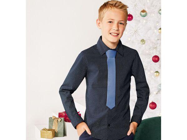 PEPPERTS® Jungen Hemd mit Fliege/Krawatte von Lidl ansehen!