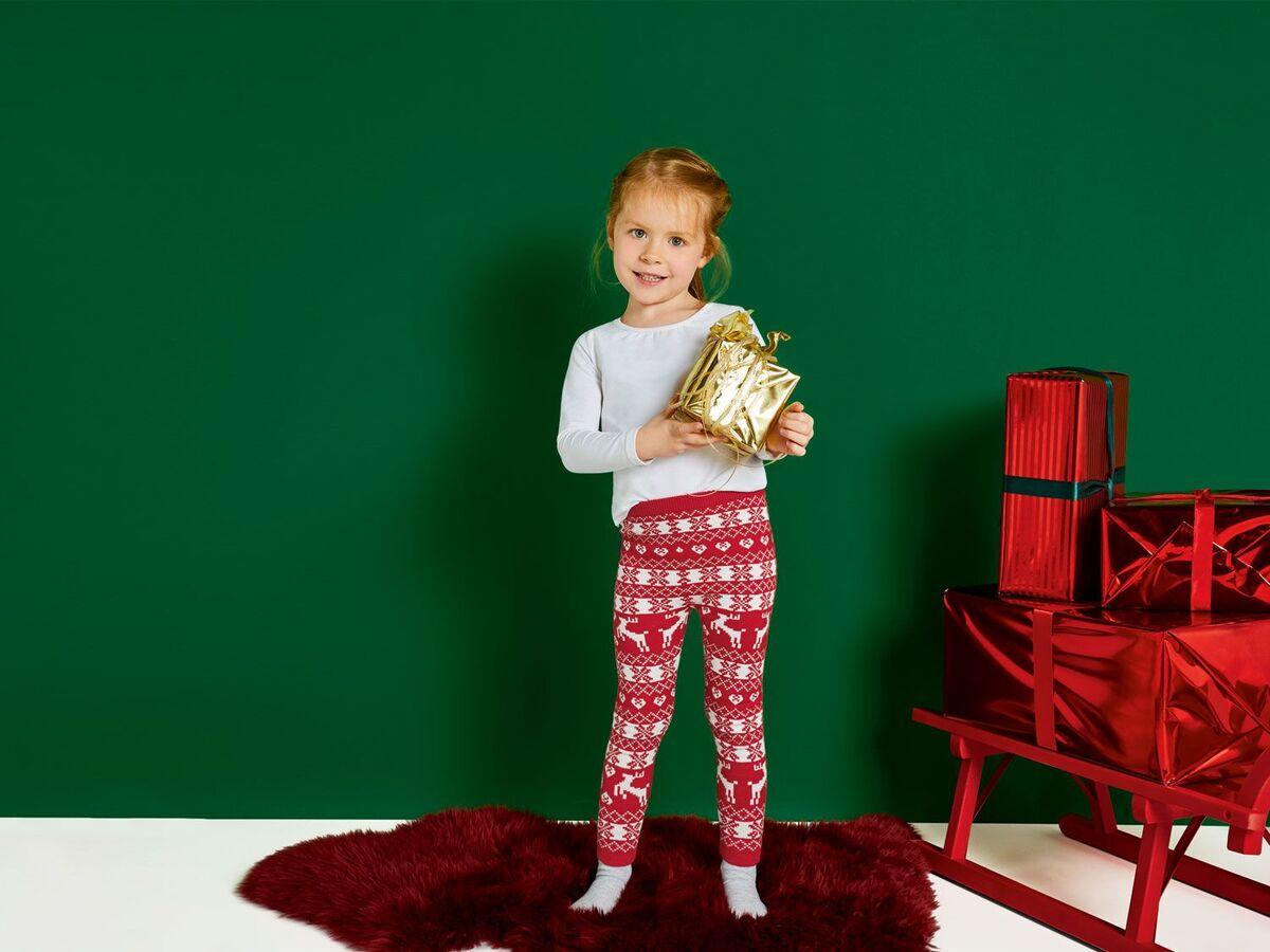 Bild 3 von LUPILU® Kleinkinder Mädchen Strickleggings