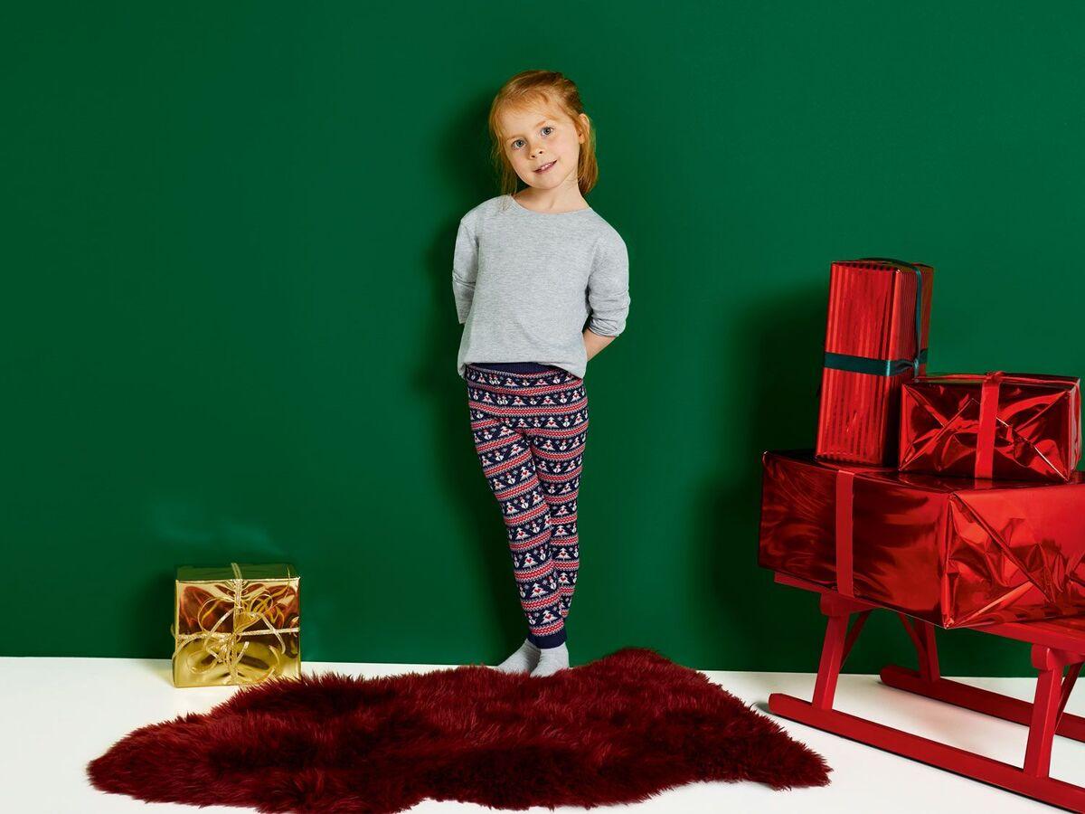 Bild 5 von LUPILU® Kleinkinder Mädchen Strickleggings