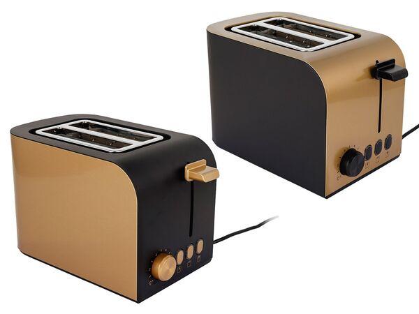 SILVERCREST® Toaster, 6 Stufen Bräunungsregler, herausnehmbare Krümelschublade