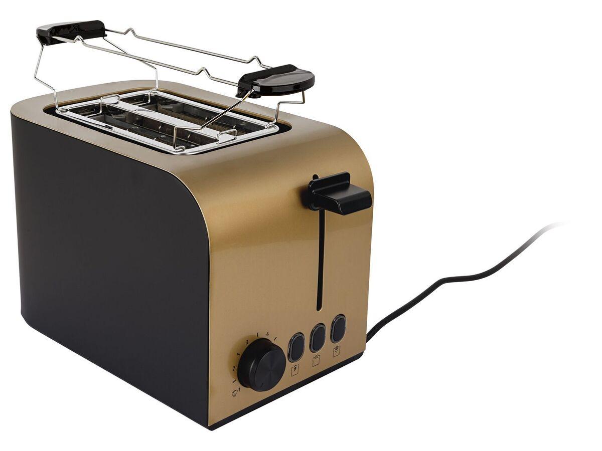 Bild 2 von SILVERCREST® Toaster, 6 Stufen Bräunungsregler, herausnehmbare Krümelschublade