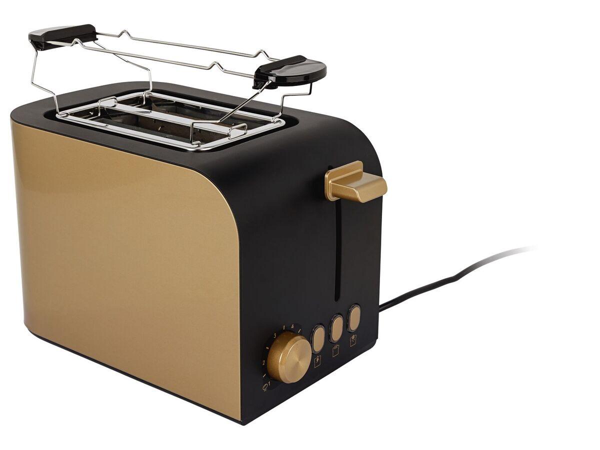 Bild 3 von SILVERCREST® Toaster, 6 Stufen Bräunungsregler, herausnehmbare Krümelschublade