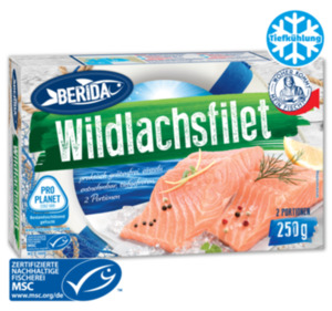 BERIDA Wildlachsfilet