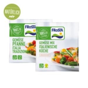 Frosta Gemüse Mix, Kleine Mahlzeit, Gemüse Pfanne oder Traditionelles Gemüse
