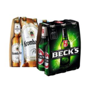 Beck's oder Krombacher