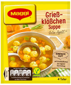 MAGGI  Guten Appetit! Suppe