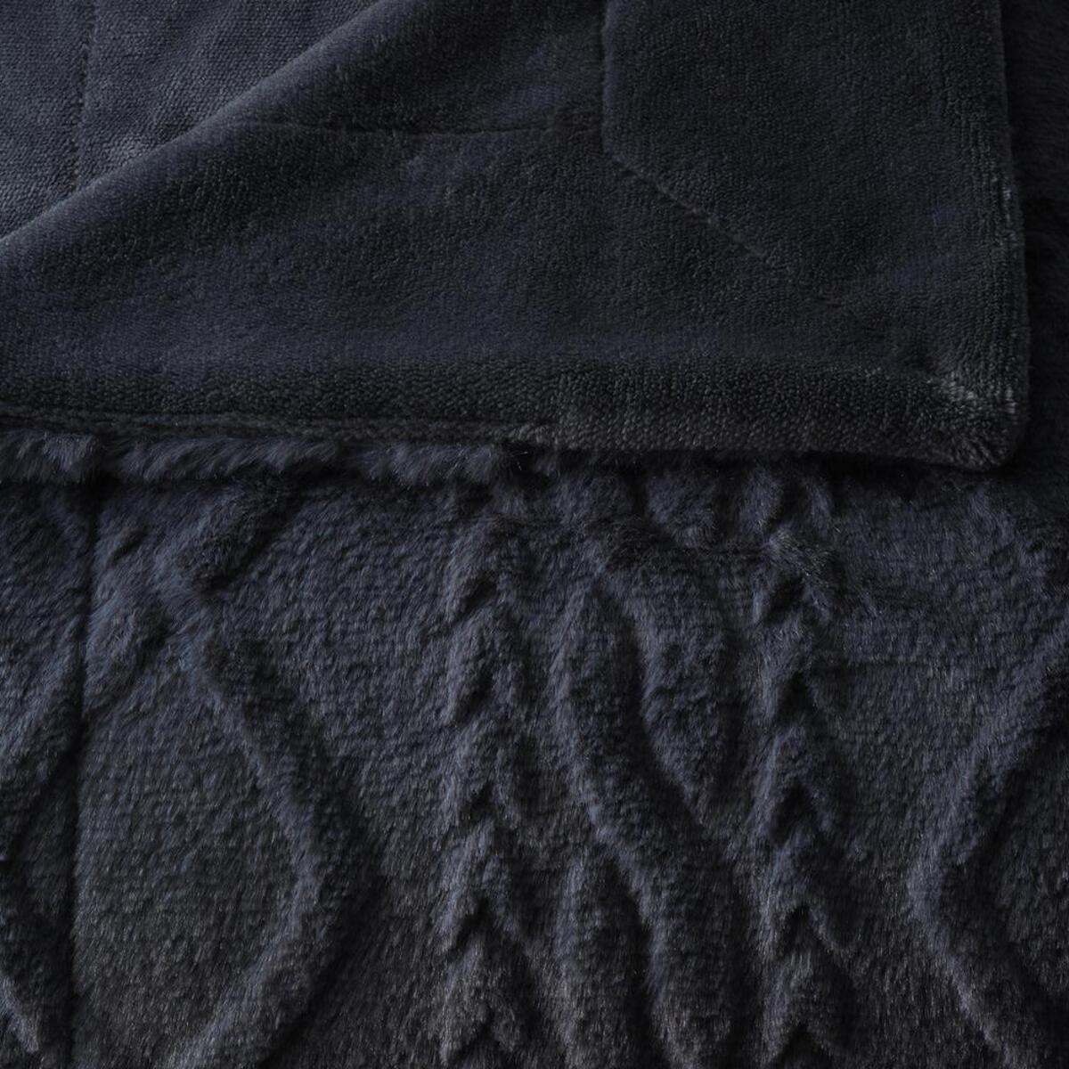 Bild 3 von Decke Anna in Grau ca. 130x170cm
