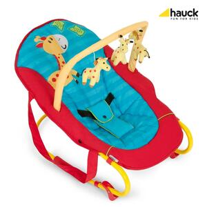 Hauck Babywippe Bungee de Luxe jungle farm