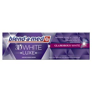 blend-a-med Zahncreme 3D White Luxe Glamorous White 75 ml