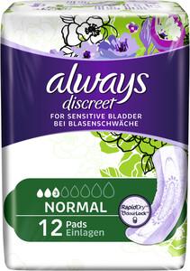 Always Discreet Normal 12 Stück