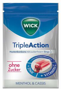 Wick Triple Action ohne Zucker 72 g