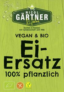 Nicol Gärtner Vegan & Bio Ei-Ersatz 100% pflanzlich 4x 5 g