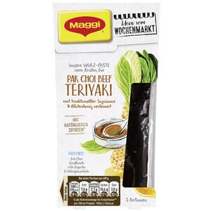 Maggi Wochenmarkt Würzpaste Pak Choi Beef Teriyaki 87 ml