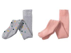 LUPILU® Kleinkinder Mädchen Thermostrumpfhose, aus Vollfrottee, mit Baumwolle