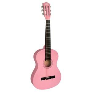 Rockstar Gitarre pink, 86 cm