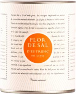 Flor de Sal d'Es Trenc Gewürzsalz, Flor de Sal, Meersalz Sri Lanka mit einer Currymischung in der Dose