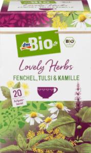 dmBio Lovely Herbs Fenchel, Tulsi & Kamille