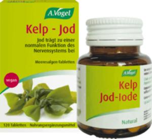 A.Vogel Vegane Kelp Jod Tabletten, 120 St.