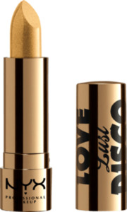 NYX PROFESSIONAL MAKEUP Lippenstift Love Lust Disco Metallic Lip Topper Gold Dipper 02