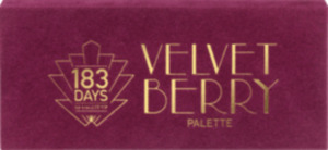 183 DAYS by trend IT UP Lidschattenpalette The Velvet Berry Palette