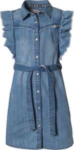 Kinder Jeanskleid PERLISSE blau Gr. 164 Mädchen Kinder