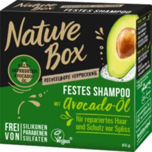 Nature Box  Festes Shampoo Avocado