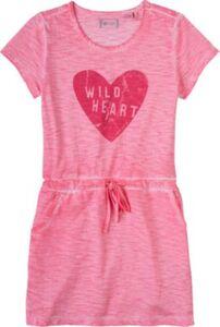 Kinder Jerseykleid rosa Gr. 104 Mädchen Kleinkinder