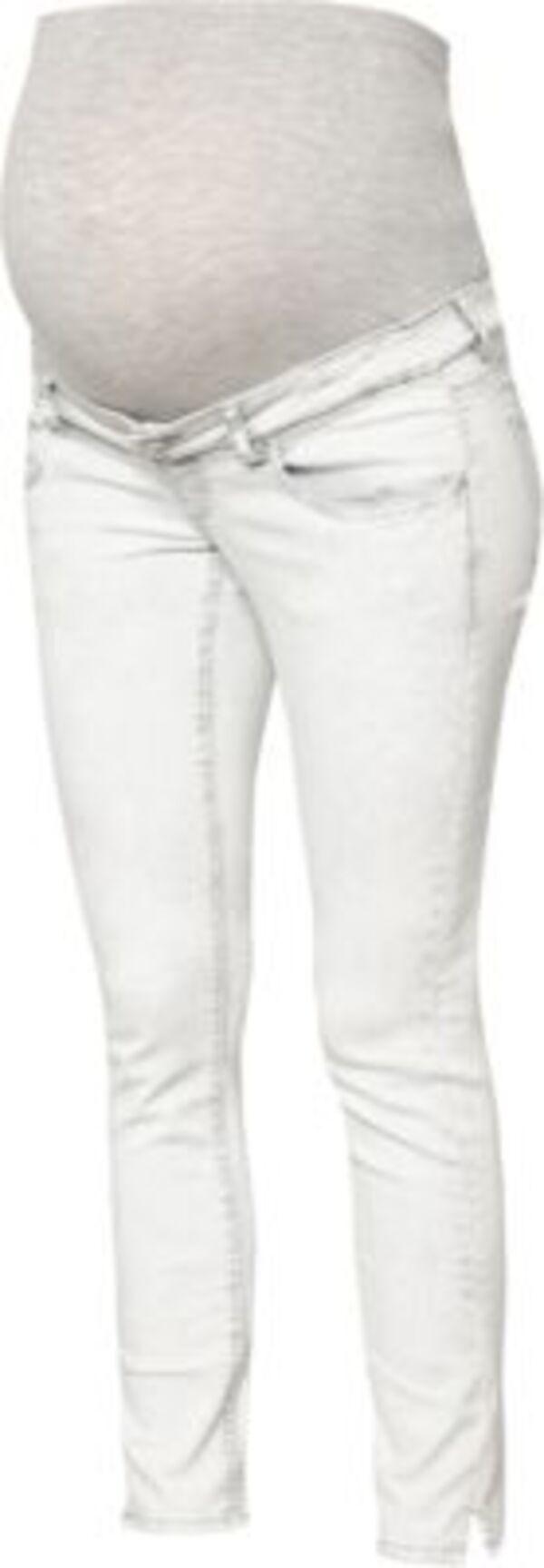 MLDETROIT 7/8 STONE WASH SLIM JEANS - Umstandsjeans - weiblich light grey denim Gr. W32/L32 Damen Kinder
