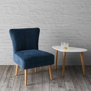 Sessel in Blau 'Laura'