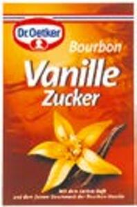 Vanillezucker Abgelaufen