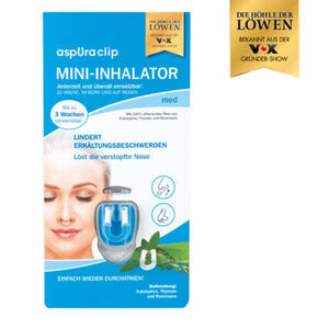 Aspuraclip Mini-Inhalator, med