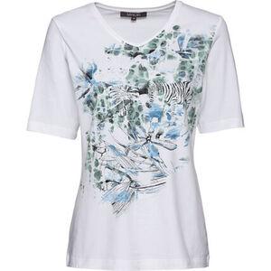 Adagio Damen Shirt, weiß, 44, 44