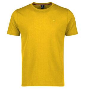 Lerros T-Shirt, Marken-Stickerei, Baumwolle