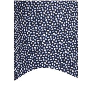 Seidensticker Business Hemd Tailored Kurzarm Kentkragen Print, Dunkelblau, blau, 38, 38