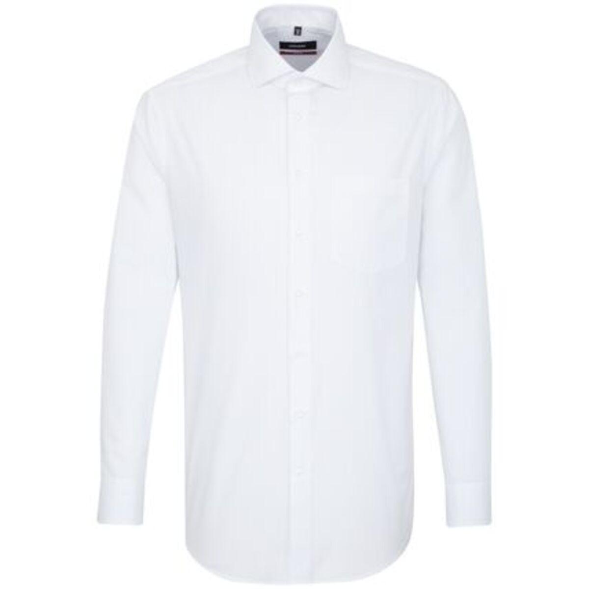 Bild 1 von Seidensticker Business Hemd Modern Langarm Kentkragen Punkte, blau